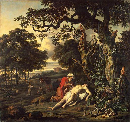 The Parable of the Good Samaritan - Jan Wijnants (1670)