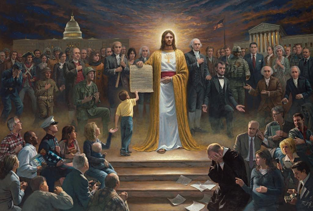 Jon McNaughton - One Nation Under God