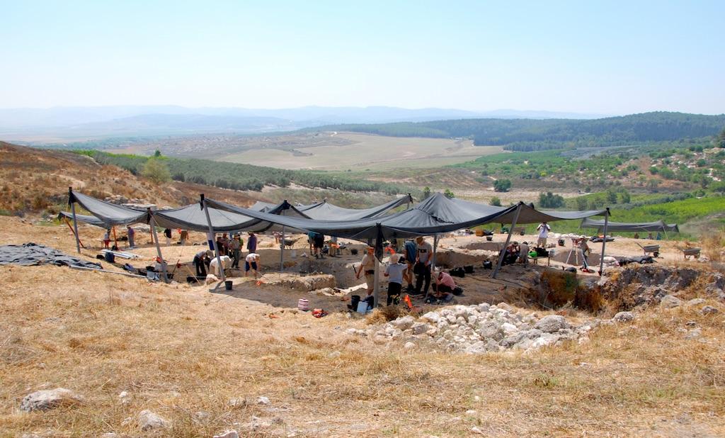 Excavation at Gezer